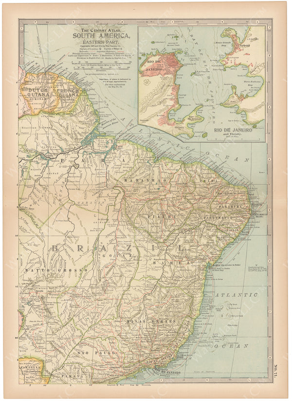 South America: Northeastern Part 1914