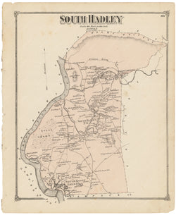 South Hadley, Massachusetts 1873