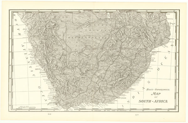 Africa (Southern Part) 1905