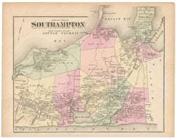 Southampton East, New York 1873