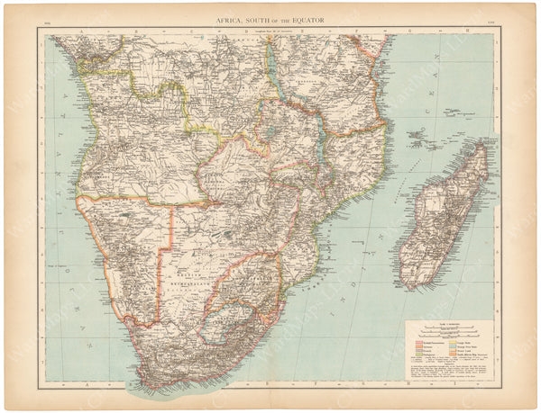 Africa 1895: Southern Africa