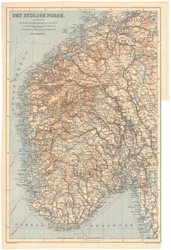 Norway 1912: Southern Part