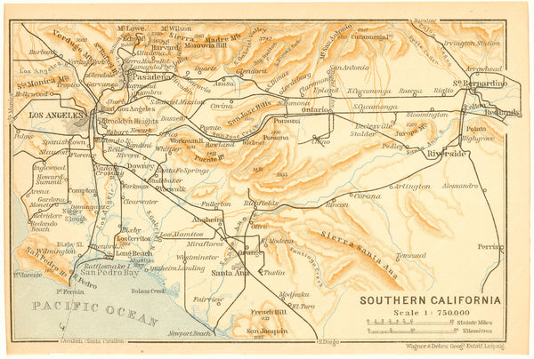 Greater Los Angeles, California 1904