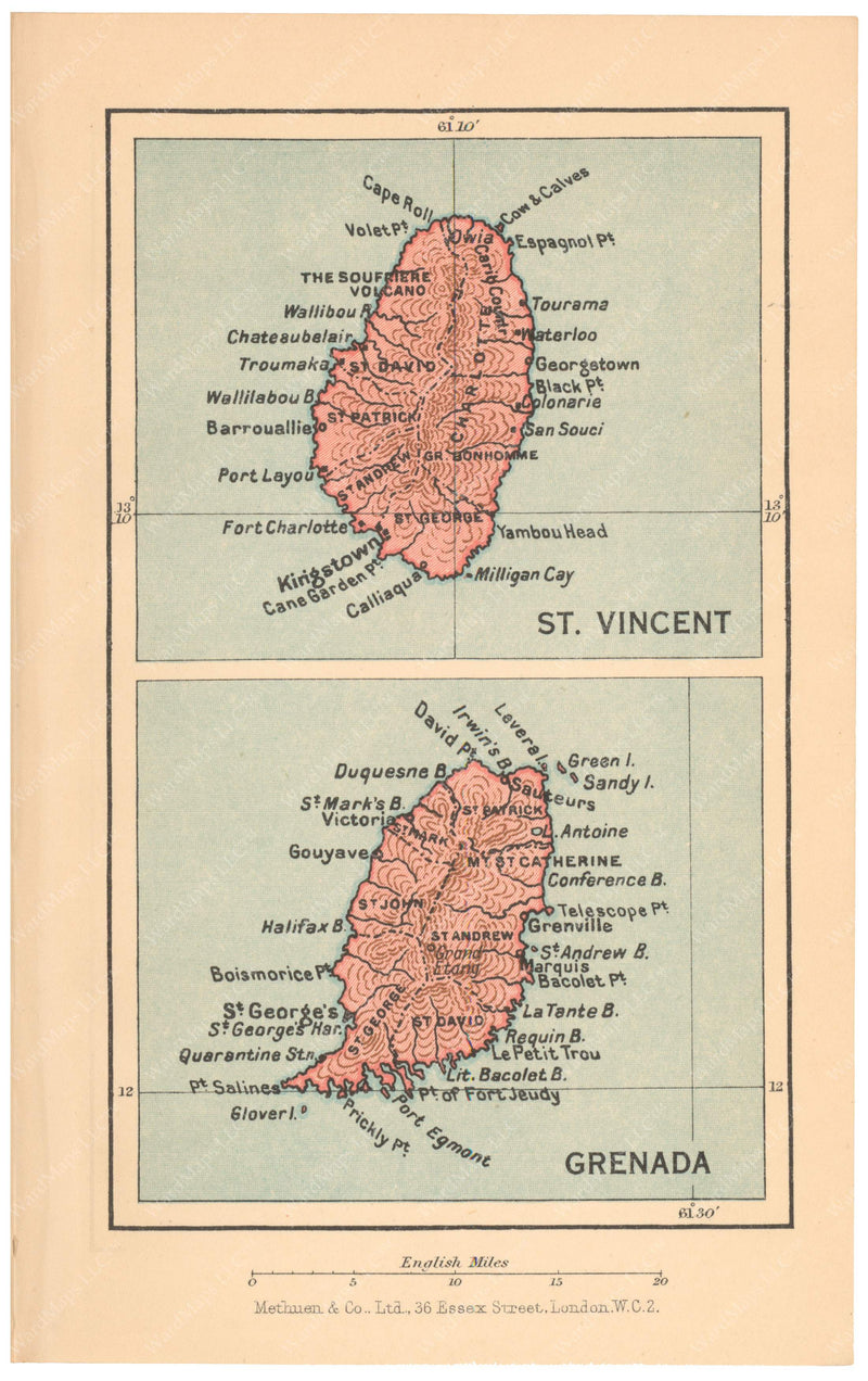 Grenada and Saint Vincent 1939