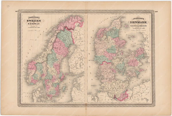 Denmark, Norway, and Sweden 1873