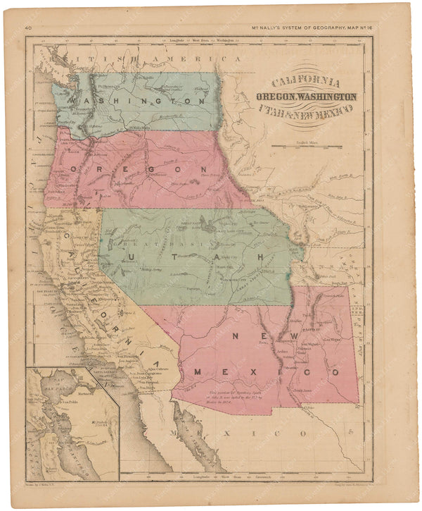 United States: Western Part 1856