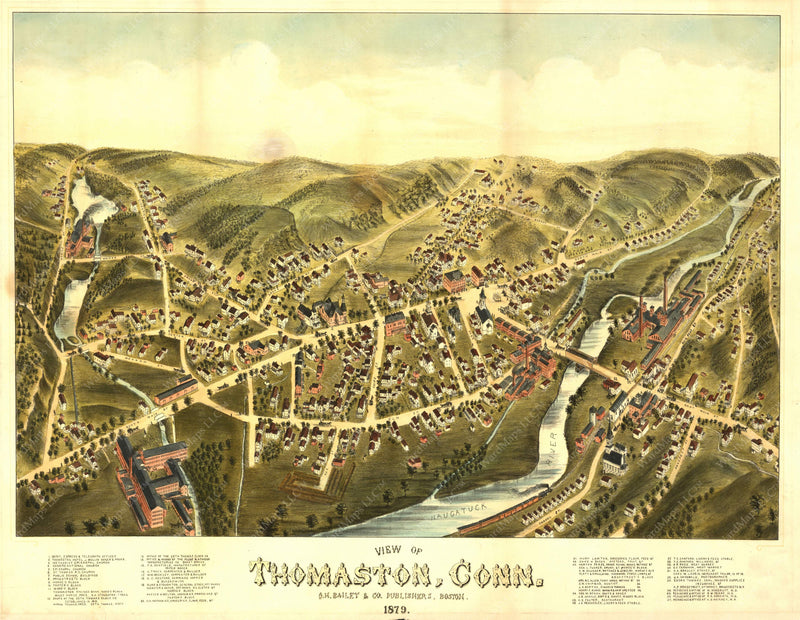 Thomaston, Connecticut 1879