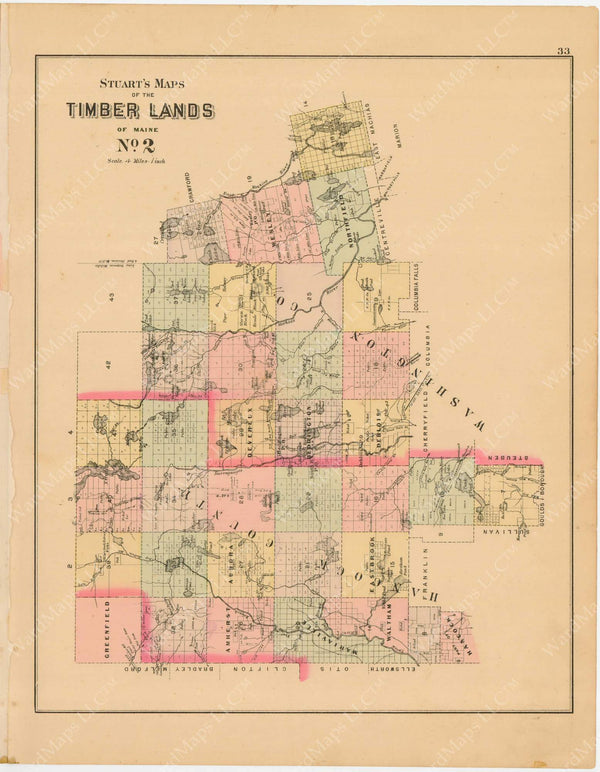 Timber Lands Number 2, Maine 1894-95