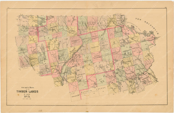 Timber Lands Number 3, Maine 1894-95