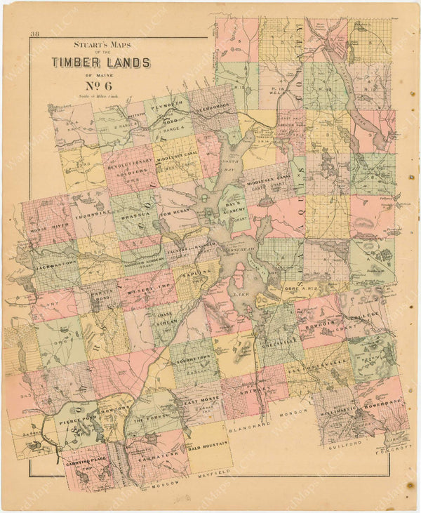 Timber Lands Number 6, Maine 1894-95