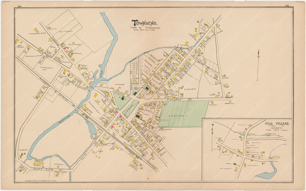 Ashby and Townsend, Massachusetts 1889