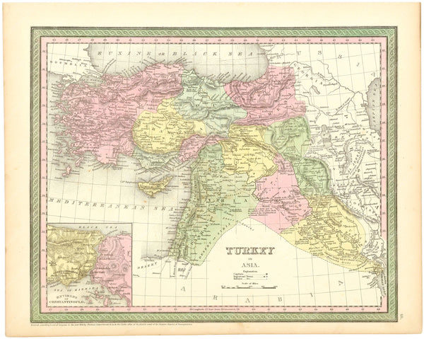 Turkey in Asia 1854