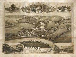Valley Forge, Pennsylvania 1890