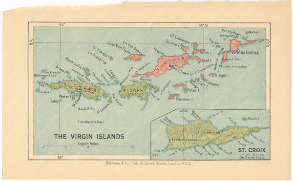 Virgin Islands 1939