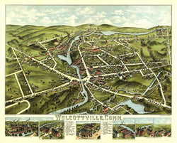 Torrington, Connecticut 1878: Wolcotville