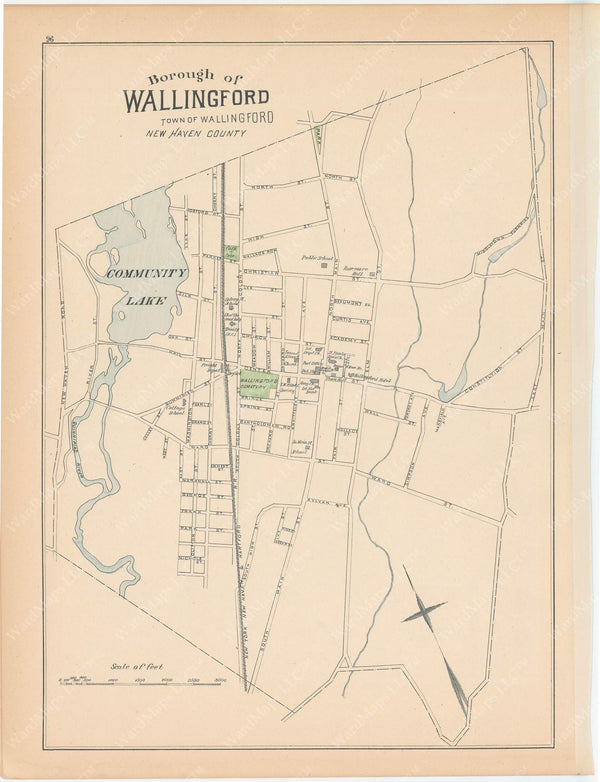 Wallingford, Connecticut 1893