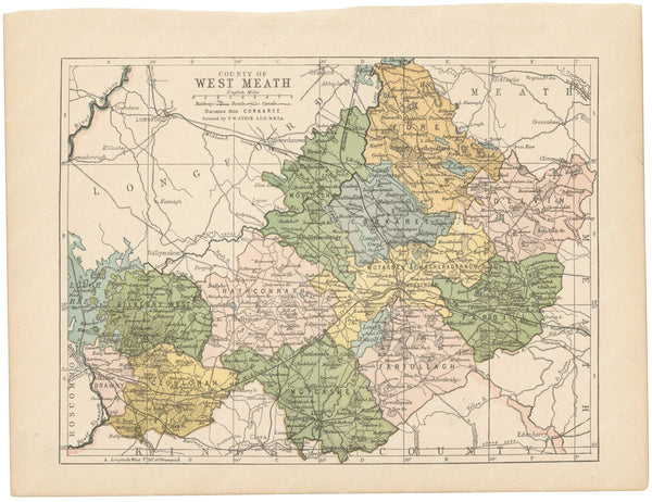 County Westmeath, Ireland 1900