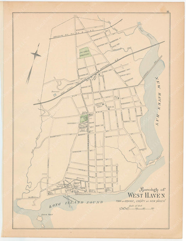 West Haven, Connecticut 1893
