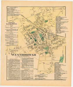 Westborough Center, Massachusetts 1870