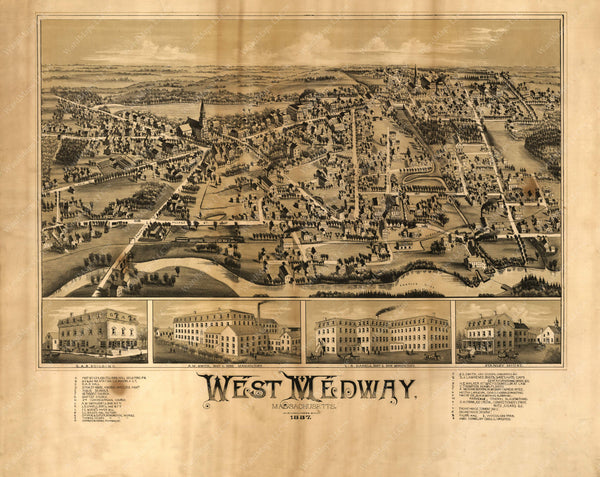 Medway: West Medway, Massachusetts 1887
