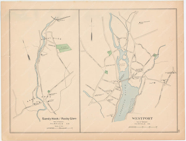 Newtown and Westport, Connecticut 1893
