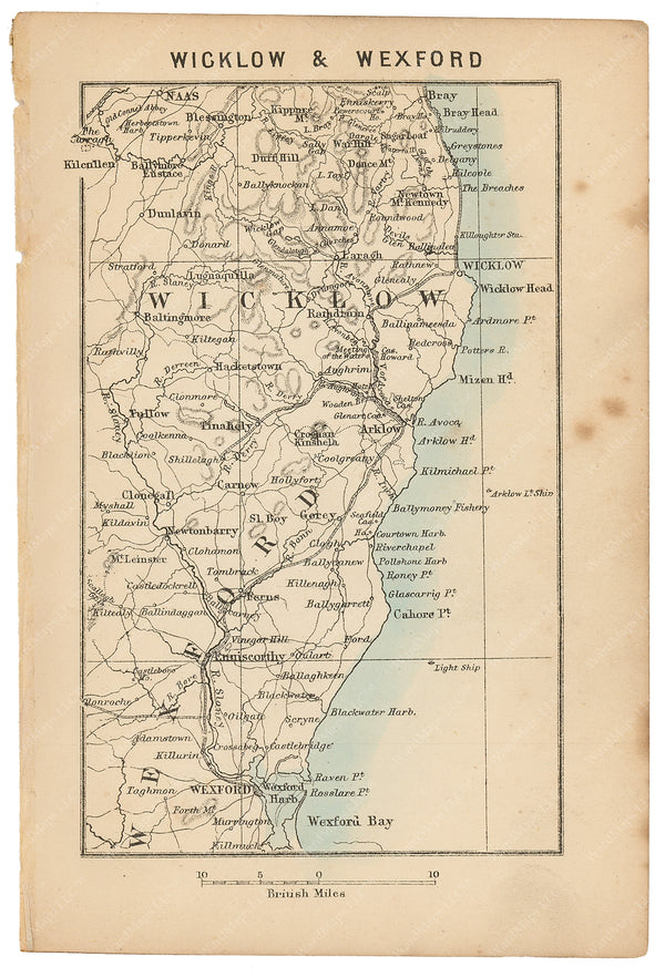 Wicklow and Wexford, Ireland 1876