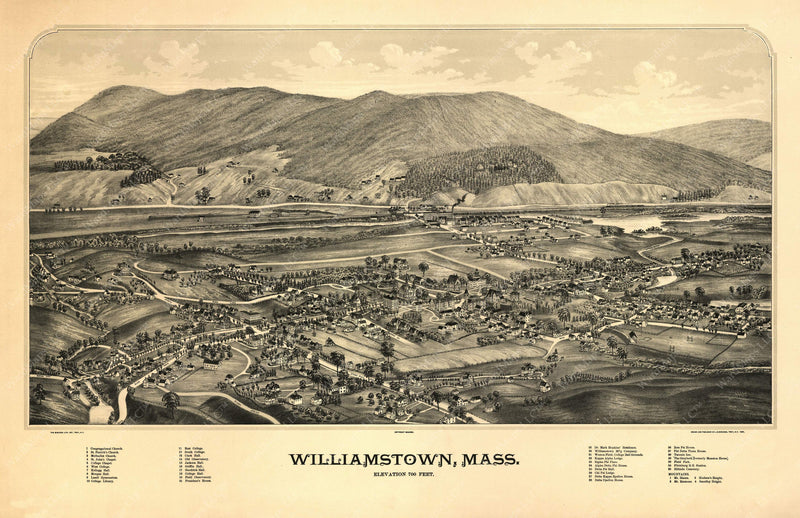 Williamstown, Massachusetts 1889