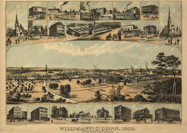 Williamantic, Connecticut 1882