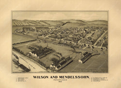 Wilson and Mendelssohn, Pennsylvania 1902