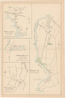 Branford, New Haven, and Wallingford, Connecticut 1893