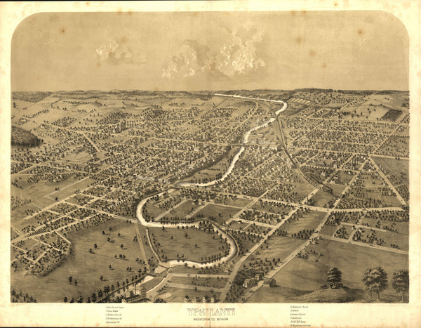 Ypsilanti, Michigan 1868