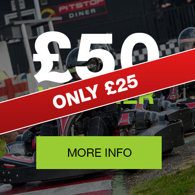 £50 Karting Offer Gift Voucher