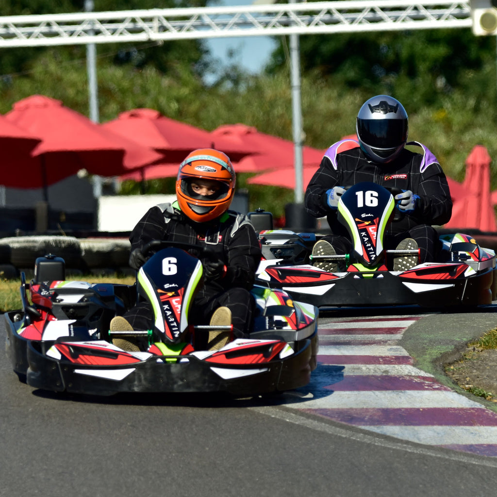 Adult Go Kart Race Experience Gift Voucher at Lakeside Karting