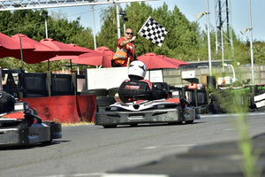Junior Race League Development Session at Brentwood Karting
