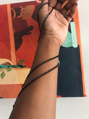 Thin Black Chain