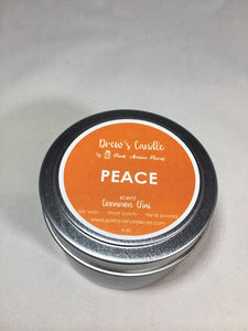 Drew's Tin Candle Cinnamon Chai NEW SCENT!