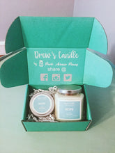 Birthday Gift Box with Candles