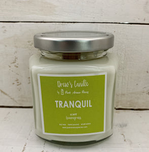 Drew's Candle - Lemongrass- Tranquil
