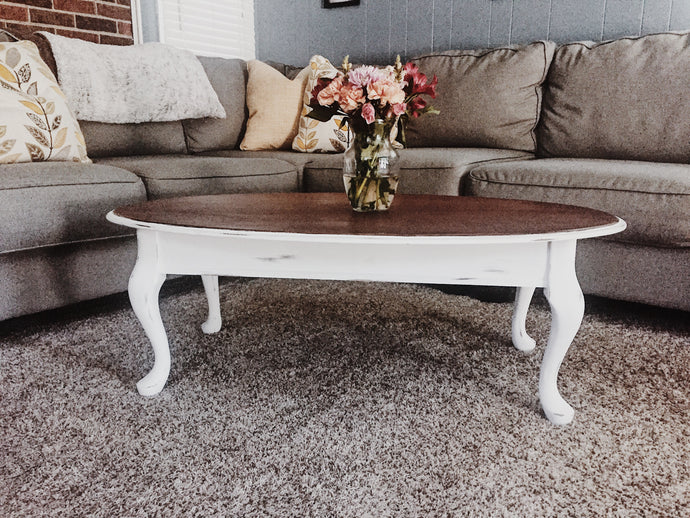 Outstanding Oval Coffee Table- Local Pick Up Only
