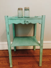 Terrific Teal Table -Local Pick Up Only SOLD