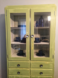 Vintage Kitchen Cupboard Local Pick up only