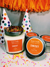 "Drew's Candle - Carrot Cake -""Sweet"""