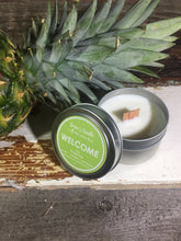 Drew's Tin Candle-Pineapple Sage-Welcome