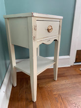 Antique Painted Accent Table- Local Pick Up