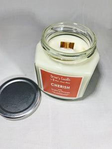 Drew's Candle - Strawberry Champagne- Cherish