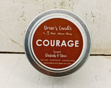 Drew's Tin Candle - Chestnuts & Clove-Courage