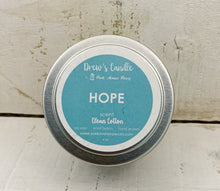 "Drew's Tin Candle-Clean Cotton  ""Hope"""