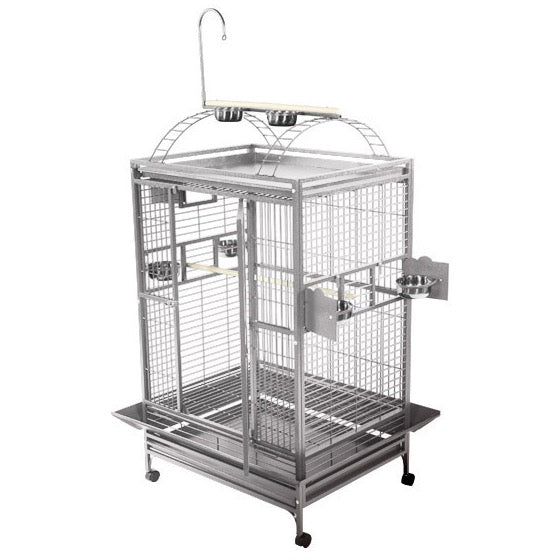 What's The Best Stainless Steel Parrot Cage For Sale? Review Premium Options For Your Macaw & Other Pet Birds