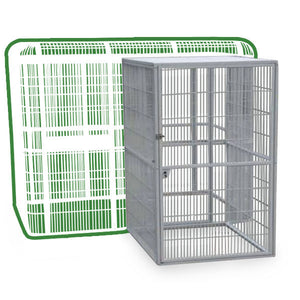 "A&E Cage Co. Side Door for 85""x61"" Walk-In Aviary"