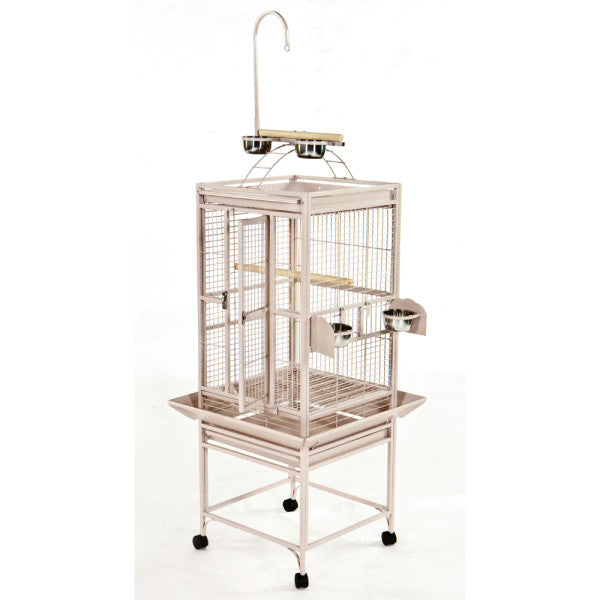 "A&E Cage Co. 24""x22"" Retreat Play Top Bird Cage"